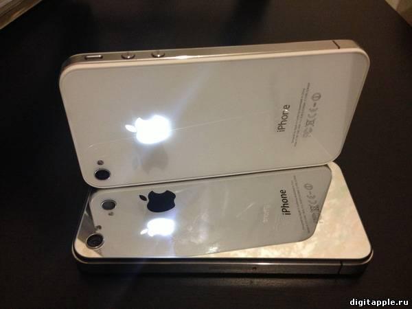 Светящееся яблоко iPhone 4